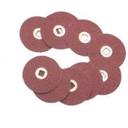 DISQUE PAPIER DIAM. 22 mm MORPLAST 50 PIECES