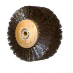 BROSSE CIRCULAIRE SOIE NOIRE 5/60 mm DROITE