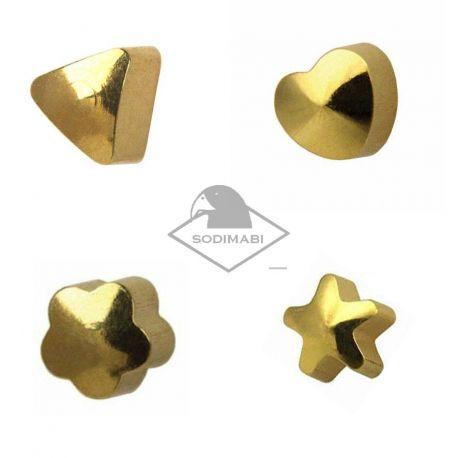 PISTOLET CLASSIQUE - FORMES ASSORTIES 4 mm