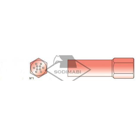 CHALUMEAU OXY-GAZ S1 - BEC MULTIDARDS N° 1