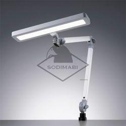 LAMPE LED BRAS ARTICULE ET TÊTE ORIENTABLE EN 3D