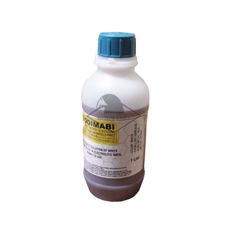 GALVANO - BAIN PLATINE 1 GR - BLANC BRILLANT (alternative au bain de rhodiage)