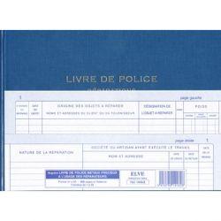 LIVRE DE POLICE METAUX PRECIEUX - REPARATIONS