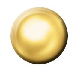 PISTOLET CLASSIQUE - BOUTON DORE ROND 4 mm