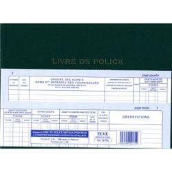 LIVRE DE POLICE METAUX PRECIEUX - VENTES / ACHATS